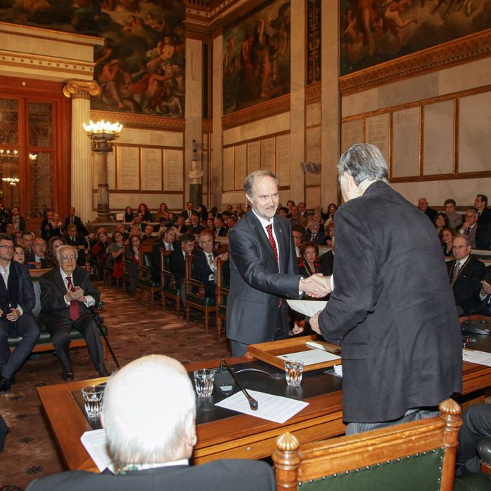 The Vice President of the Hellenic Society of Nanotechnology in Health Sciences, Prof. Costas N. Demetzos, was awarded by the Academy of Athens